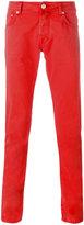 Jacob Cohen tapered trousers - men - Cotton/Spandex/Elastane - 31