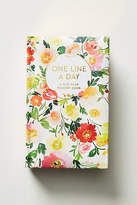 Anthropologie One Line A Day: A Five-Year Memory Book