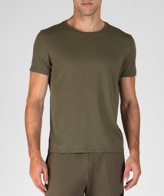 Atm Classic Jersey Crew Neck Tee - Army
