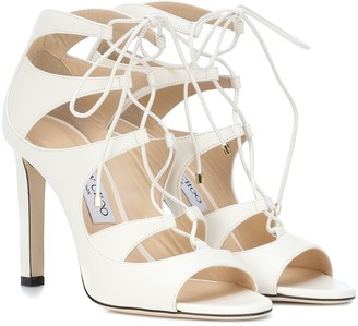 Jimmy Choo Blake 100 leather sandals