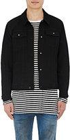 Ksubi Men's Classic Denim Jacket-BLACK