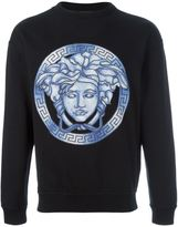 Versace Medusa watercolour sweatshirt