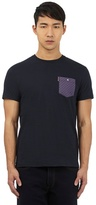Ben Sherman Navy Blue Crew Neck T-shirt