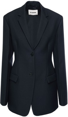 Jil Sander Serge Wool One Breast Jacket
