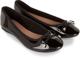Accessorize Patent Luxe Ballerina Flat Shoes