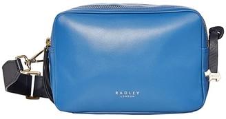 Radley London Alba Place - Small Zip Around Crossbody (Dove Grey) Handbags