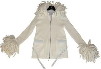 Christian Dior Ecru Wool Knitwear for Women Vintage