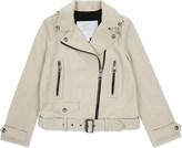 Burberry Patchford leather jacket 6-14 years