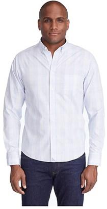 UNTUCKit Wilridge Wrinkle Free (Purple) Men's Long Sleeve Button Up