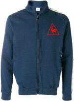 Le Coq Sportif tricolour tennis zip-up sweatshirt