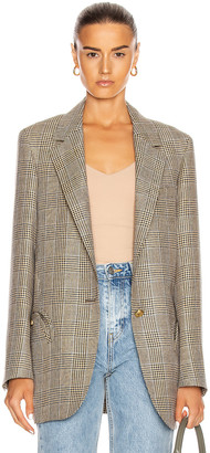BLAZÉ MILANO Merit Weekend Single Breast Blazer in Mocha | FWRD
