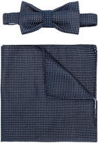 fe-fe bow-tie pocket square set