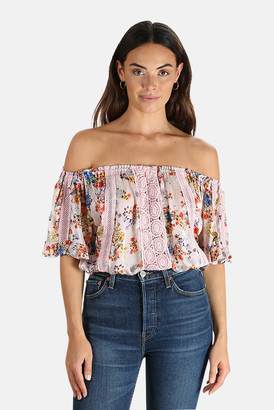 Tropez Sunday St. Loulou Print Top