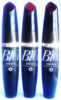 Avon Big & Daring Waterproof Volume Mascara 10ml - 0.3fl.oz. 3 PCS