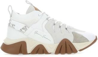 Versace Squalo Signature Logo Sneakers