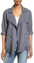 Caslon Women's Roll Sleeve Utility Jacket