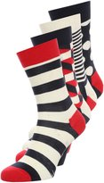Happy Socks 4 Pack Socks Blue