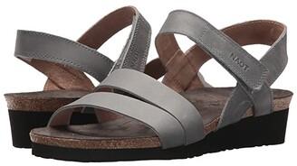 Naot Footwear Kayla - Wide (Black Matte Leather) Women's Shoes