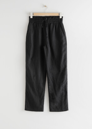 And other stories Relaxed Linen Trousers