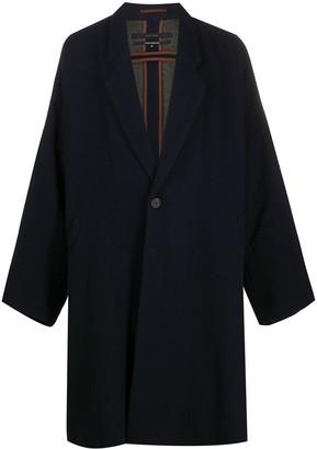 Ziggy Chen Oversized Single Breasted Coat