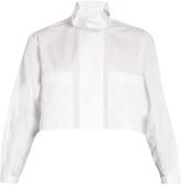 Ellery Type A ruffle-collar cotton shirt