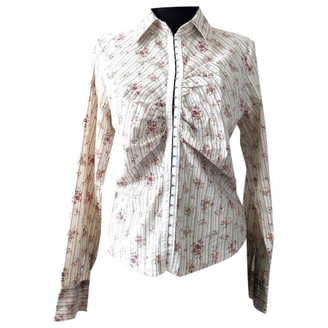 Hallhuber Multicolour Cotton Top for Women