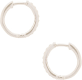 Natalie B Uptown Huggie Earrings