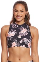 Seafolly Pacifico Active Jungle Floral Cross Back Top 8160882