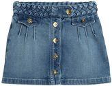 Chloé Stretch Denim Skirt