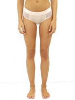 Wildfox Couture Mesh Hipster Brief in Peachy Keen