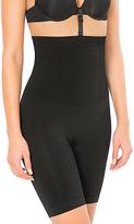 Black High-Waist Slimming Secret Shaper Shorts