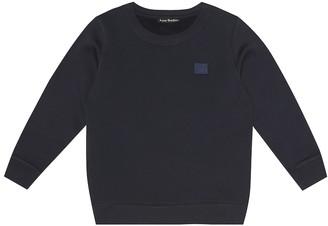 Acne Studios Kids Mini Fairview Face cotton sweatshirt