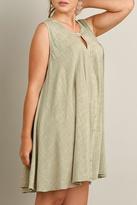 Umgee USA Crochet Detail Dress