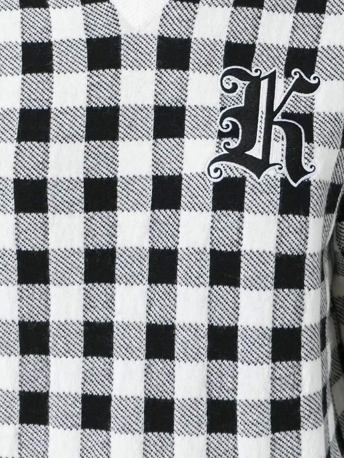 Christopher Kane check jumper