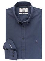 Thomas Pink Cullum Plain Slim Fit Button Cuff Shirt