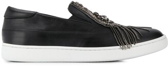 Mr & Mrs Italy Embellished Low-Top Sneakers
