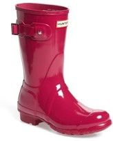 Hunter Women's 'Original Short' Gloss Rain Boot