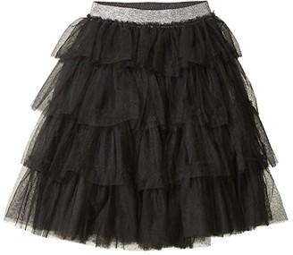 Cotton On Trixiebelle Tulle Skirt (Toddler/Little Kids/Big Kids) (Phantom/Tiered Midi) Girl's Skirt