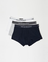 Emporio Armani 3-Pack Trunks
