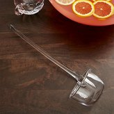 Crate & Barrel Britta Glass Punch Ladle