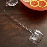 Crate & Barrel Glass Punch Ladle