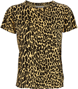 Mother The Sinful Leopard Print T-Shirt