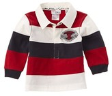 Chicco Boys' Red Stripe Polo Shirt.