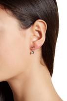 Candela 10K Yellow Gold Ball & Crystal Earrings