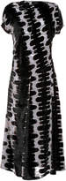Marni Short Sleeve Printed Dress