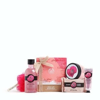 The Body Shop Petal-Soft British Rose Pampering Essentials