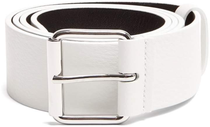 Balenciaga Logo-print leather belt