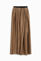 Martin Grant Long Pleated Skirt