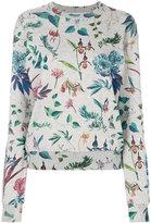 Paul Smith foliage print sweatshirt