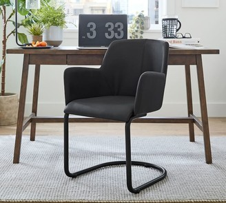 Pottery Barn Craig Leather Desk Chair